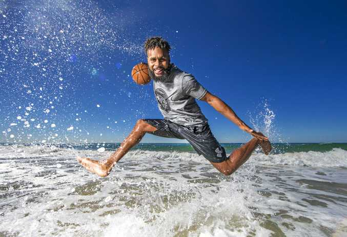 ON BOARD: NBA star Patty Mills is the latest addition to the Gold Coast Commonwealth Games ambassador team.
