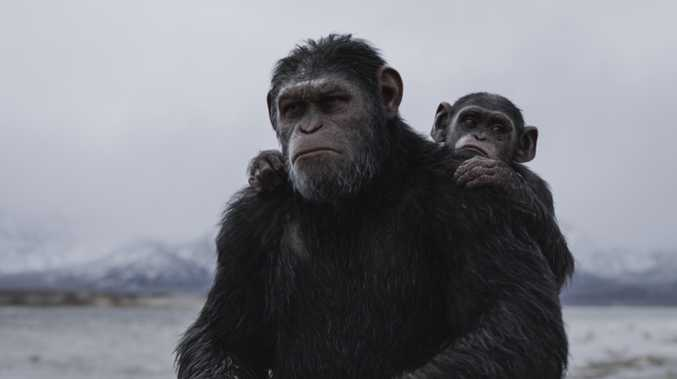 Caesar in the War for the Planet of the Apes