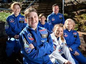 Ipswich students get a taste of NASA