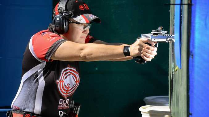 Ipswich Pistol Club member Karla Blowers is preparing to defend her world title at the International Practical Shooting Confederation tournament in France.