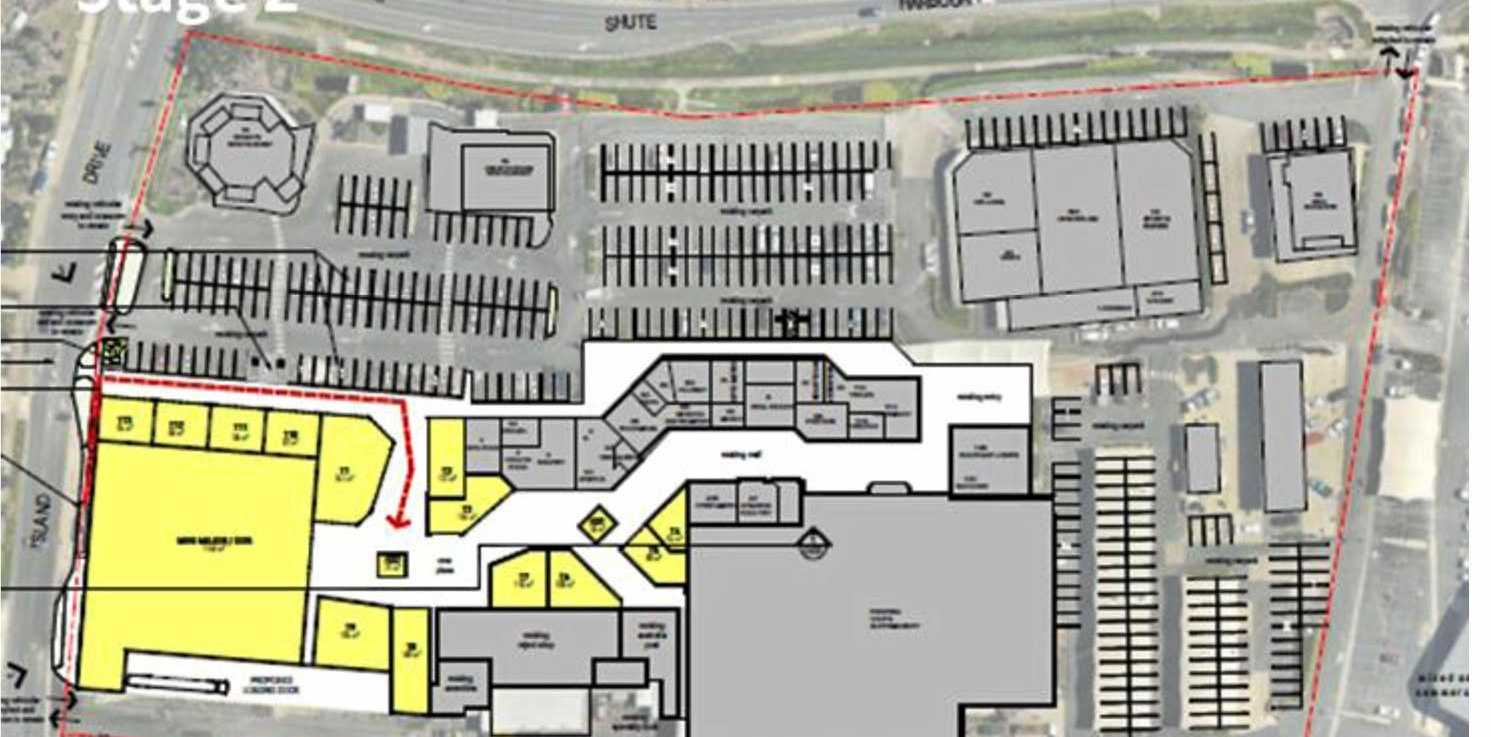 BIG PLANS: Stage two of the Whitsunday Shopping Centre development.
