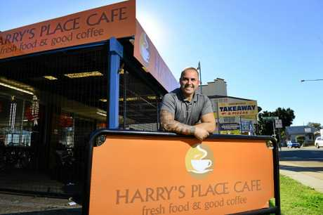Owner Harry Pizanias of Harry's Place Cafe in Rosewood was fearful for the safety of his mother and brother following the earthquake in Kos.