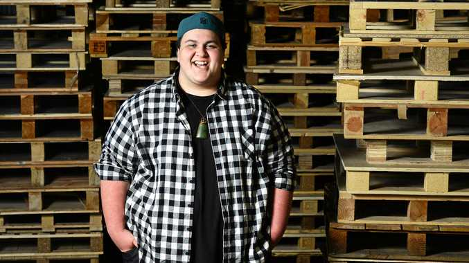 IN TUNE: Former Ipswich resident Judah Kelly nicknamed
