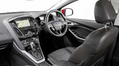 The 2016 Ford Focus Titanium.