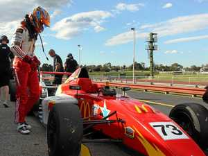 Teen driver ready to race close to home