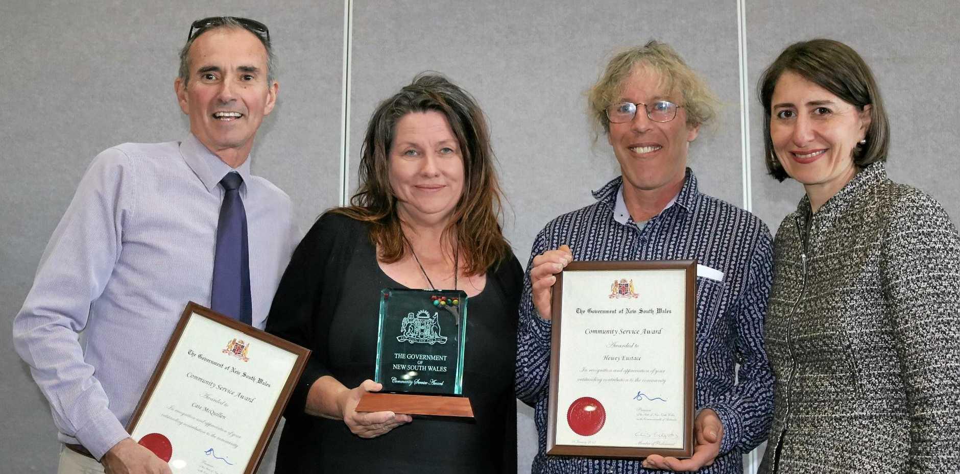 NSW Premier surprises dirtgirl creators with award   Daily Examiner
