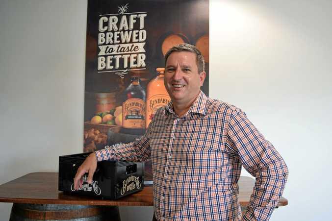 Bundaberg Brewed Drinks CEO John McLean has been named one of Queensland's EY Entrepreneurs of the Year.