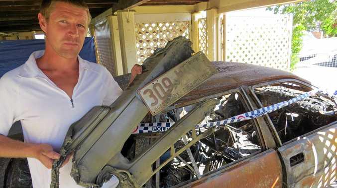 Nathan Philpott had his car stolen, then burnt out.