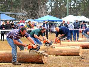 Axemen from across the East Coast take on timber festival
