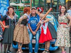 Car show has 'vintage' style