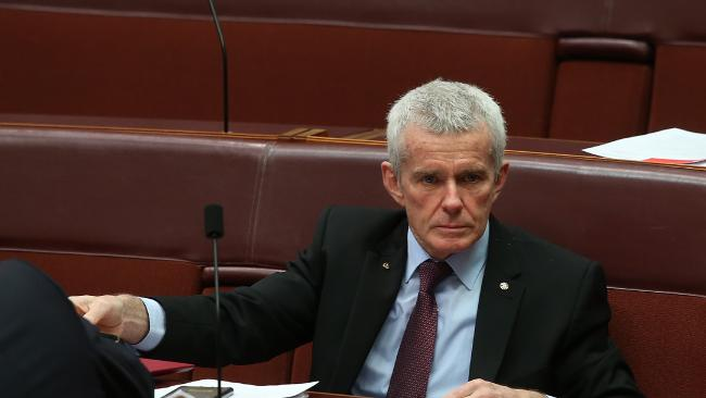 One Nation Senator Malcolm Roberts.