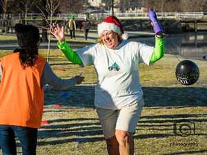 Christmas in July parkrun a full success