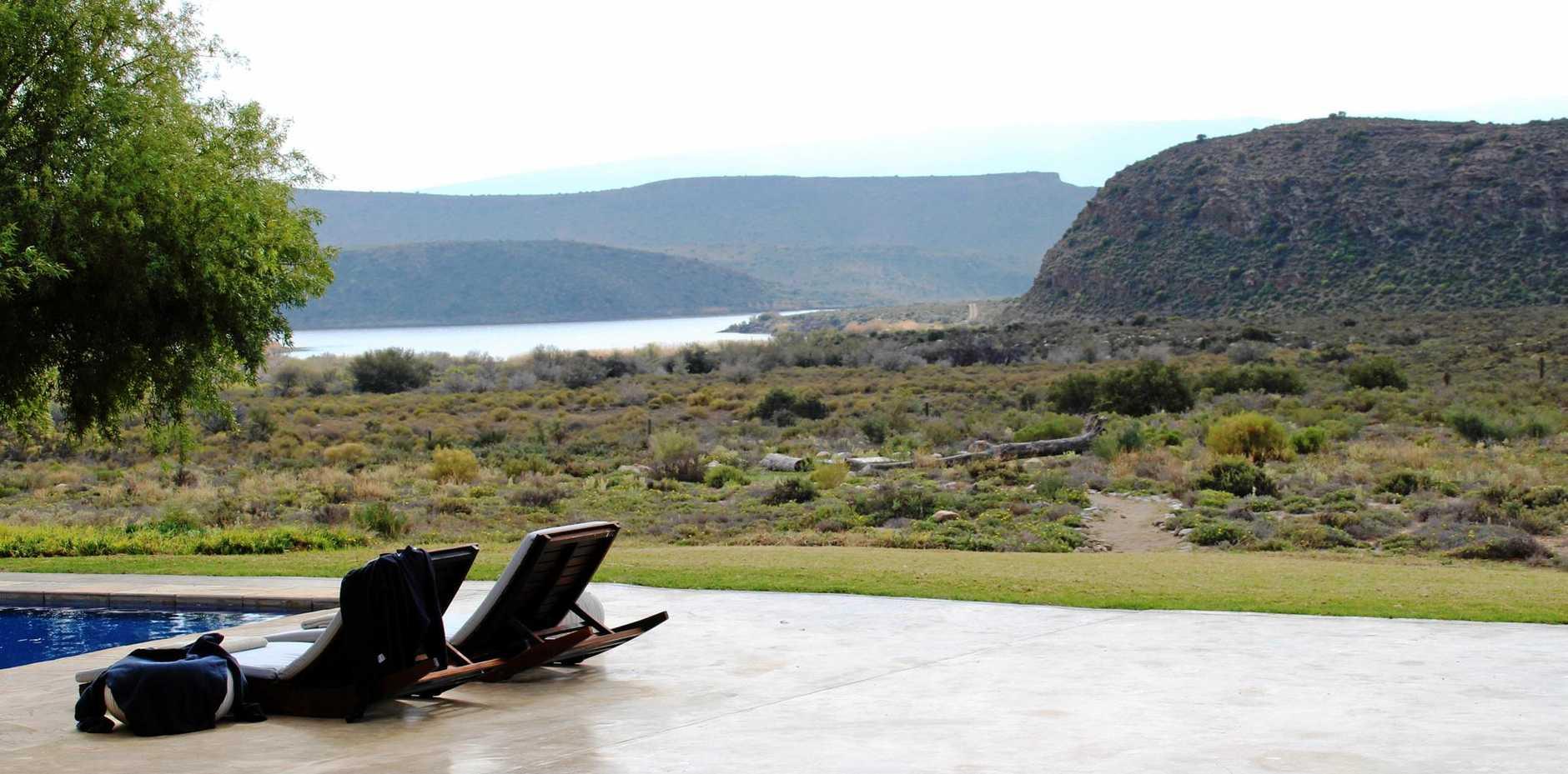 Gondwana Lodge's pool.