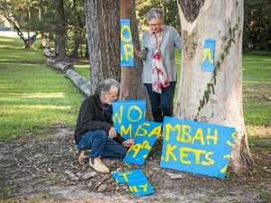 Woombah Winter Markets organisers dismayed at sign vandalism