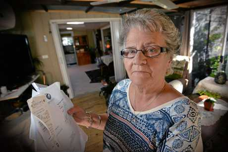 Val Wilson is struggling to find accommodation she can afford even with the help of the Department of Housing.