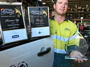Local boy wins big at 'Logies of plumbing and gas'