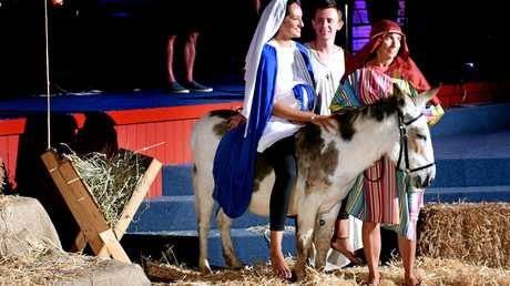 BORROWED TIME? Nativity scenes used to be common in public schools.