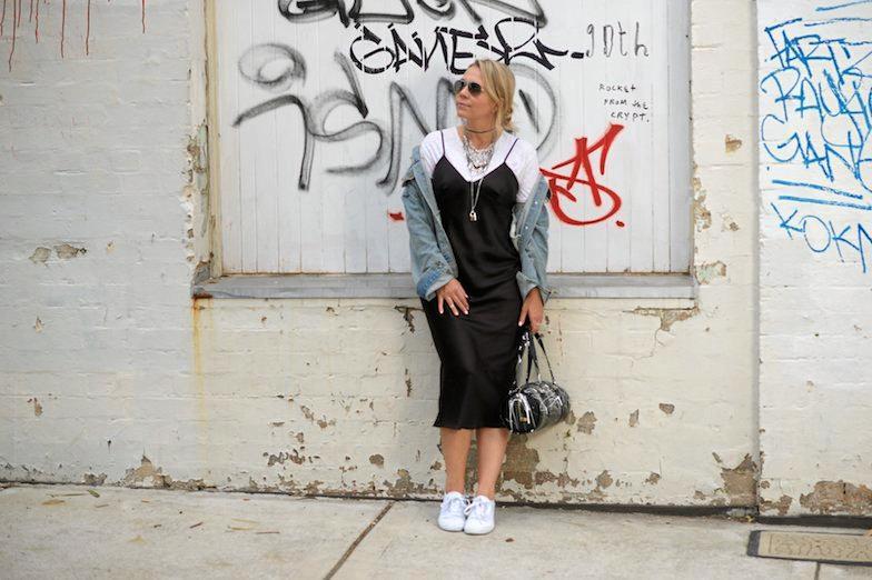 RECYCLE REUSE: Salvo Stores ambassador and eco-stylist Faye de Lanty.