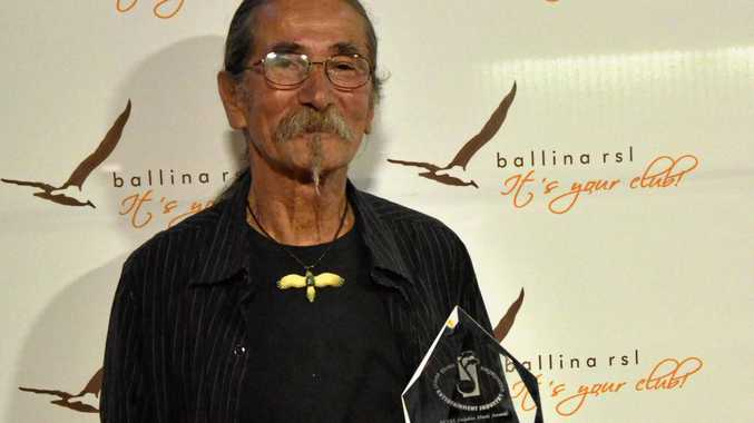 NEVER TOO LATE: Ivan Perger, 66, received his first NCEIA Dolphin Award in the folk category in 2014.