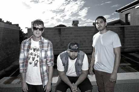 Lismore hip hop band Teddy Lewis King.
