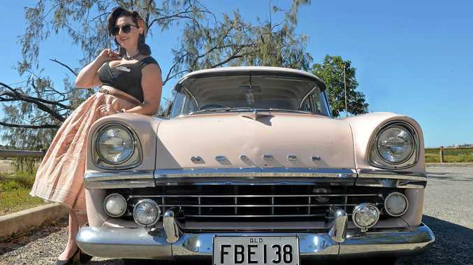 Annalise Mawer with her 1960 Holden FB Special.