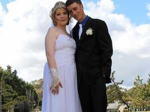 Carnells tie the knot