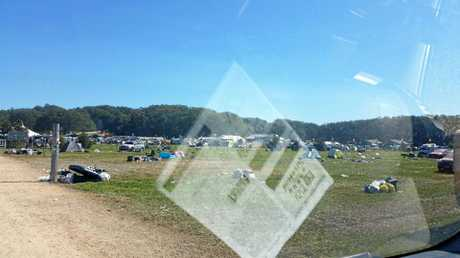 Splendour in the Grass Festival site 2017. Facebooker said images