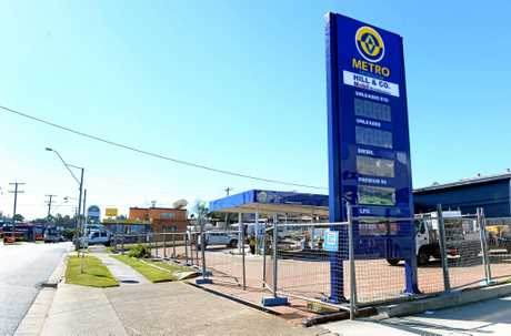 Metro Petroleum is moving into the site on the corner of Brisbane and Tiger Street in West Ipswich.
