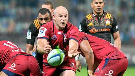 Stephen Moore will retire from international rugby at the end of this year but will run out for the Reds next year.