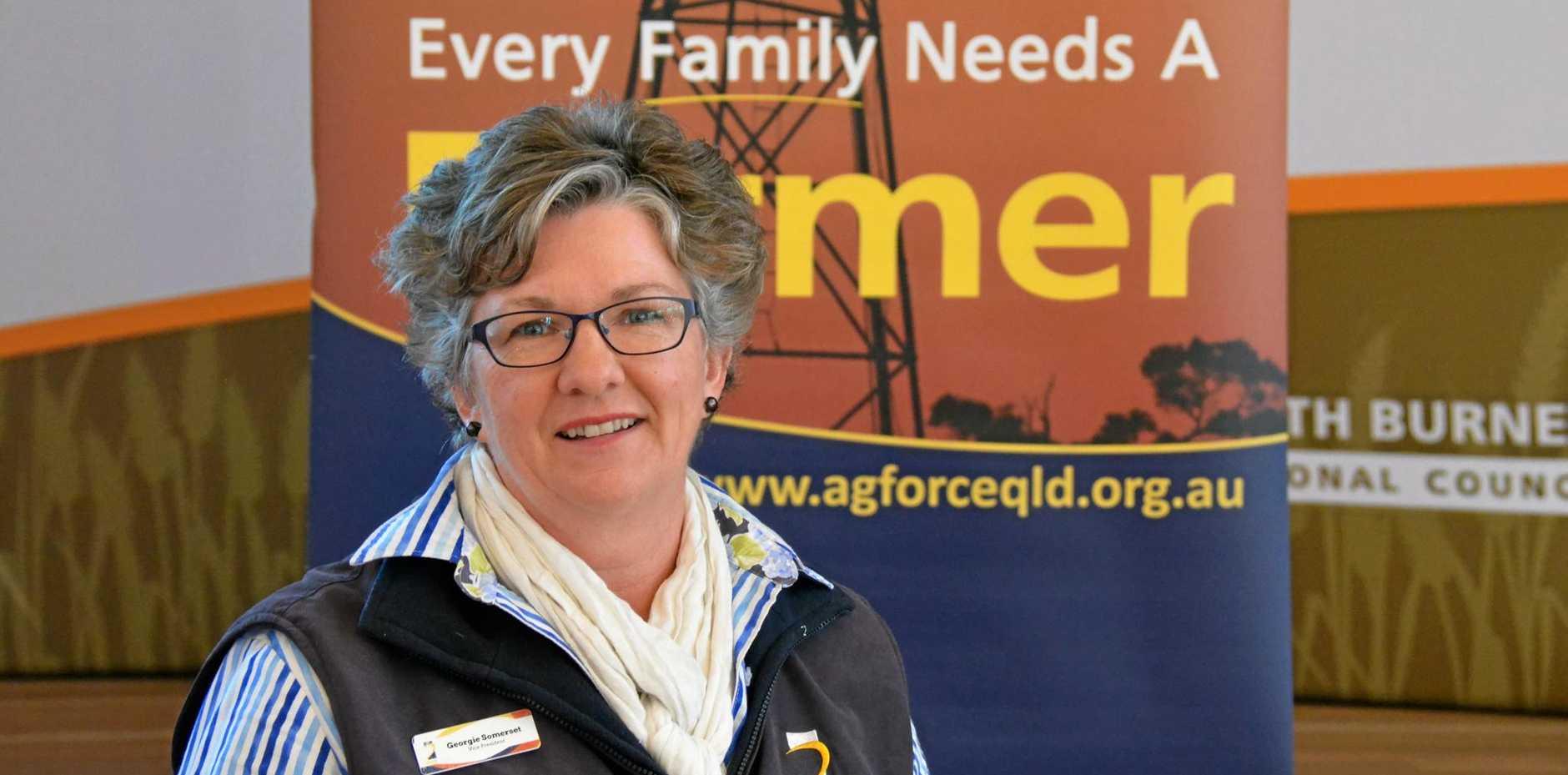 STOP OVER-REGULATION: Report steering committee member, farmer and Agforce vice president Georgie Somerset.