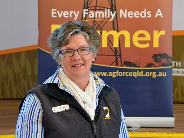 STOP OVER-REGULATION: Report steering committee member, farmer and Agforce vice president Georgie Somerset.