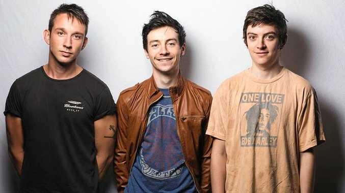 NEW EP: Walter, Isaac and Angelo from Brisbane's Mecha Mecha play the Black Bear Lodge tonight.