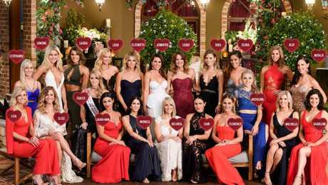 These 22 women trying to win Matty's heart... but at what cost? (Pic: Channel 10)