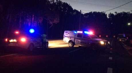 A Coolum Beach street is in lockdown after a woman was hit by a truck and killed.
