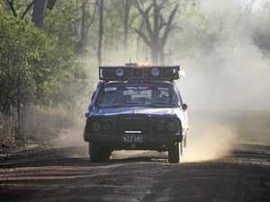Crossing the Queensland outback in a car rally