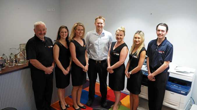 Some Of The Team At Fuji Xerox Business Centre