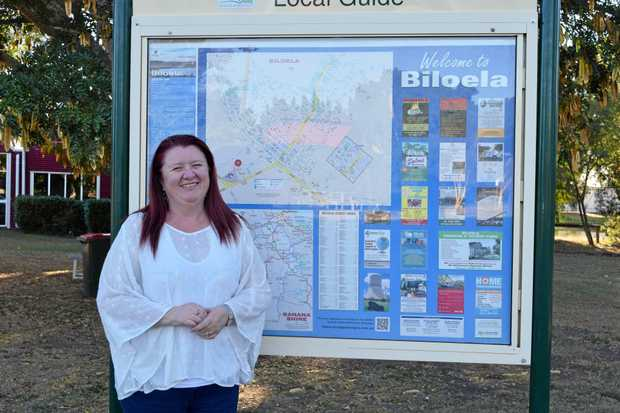 HERE TO STAY: Gail Rodda says Biloela is well-presented, safe and welcoming.