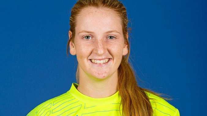 Rising Western Pride goalkeeper Elli Chapple.