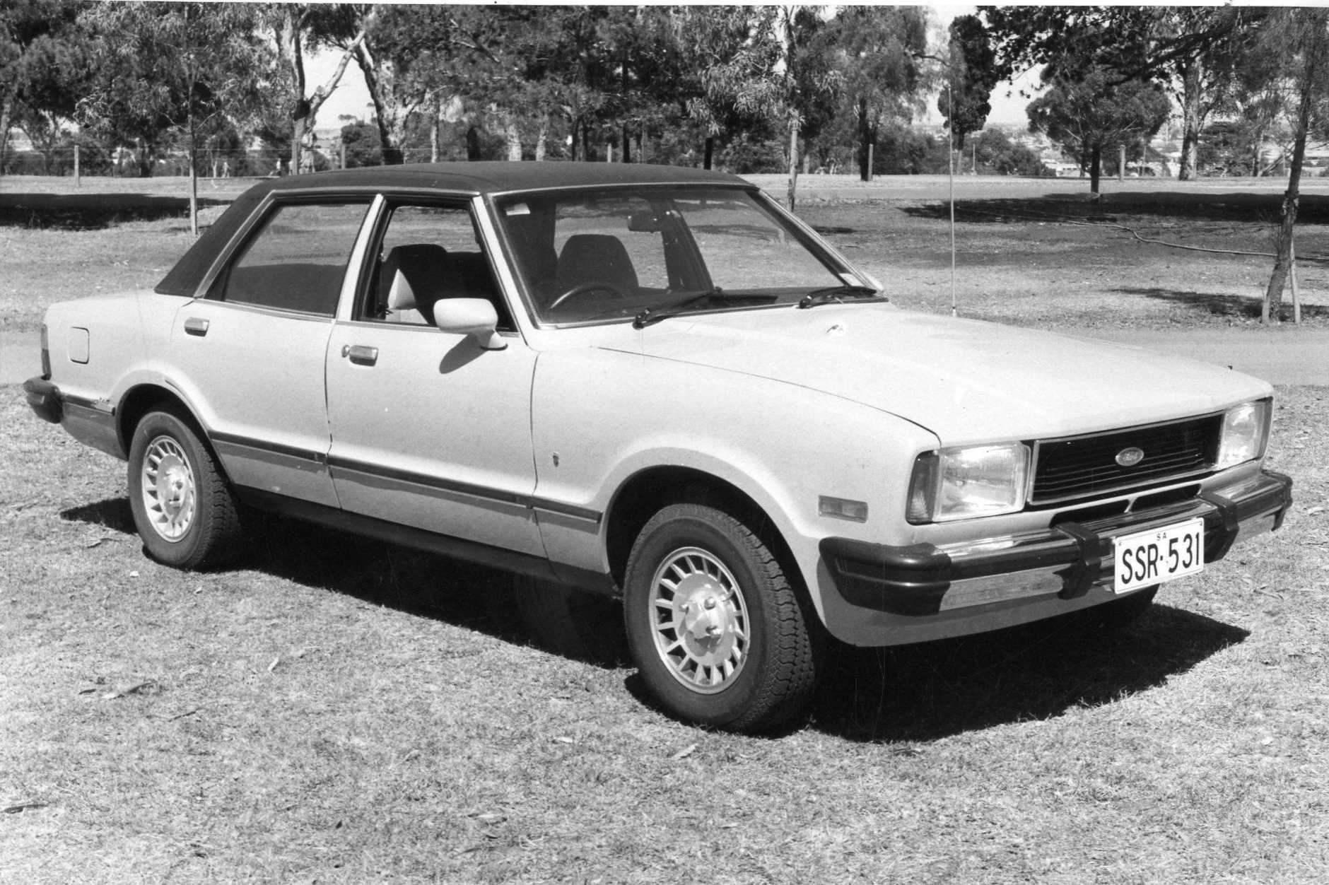 The Ford Cortina Ghia from 1978.