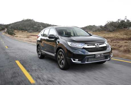 The 2017 Honda CR-V has arrived.