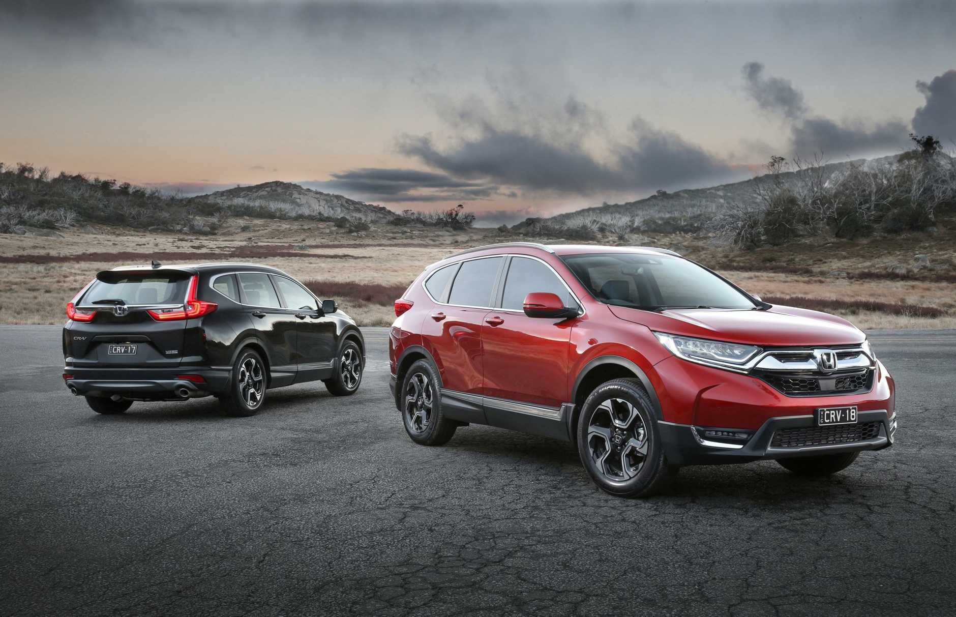 The 2017 Honda CR-V.