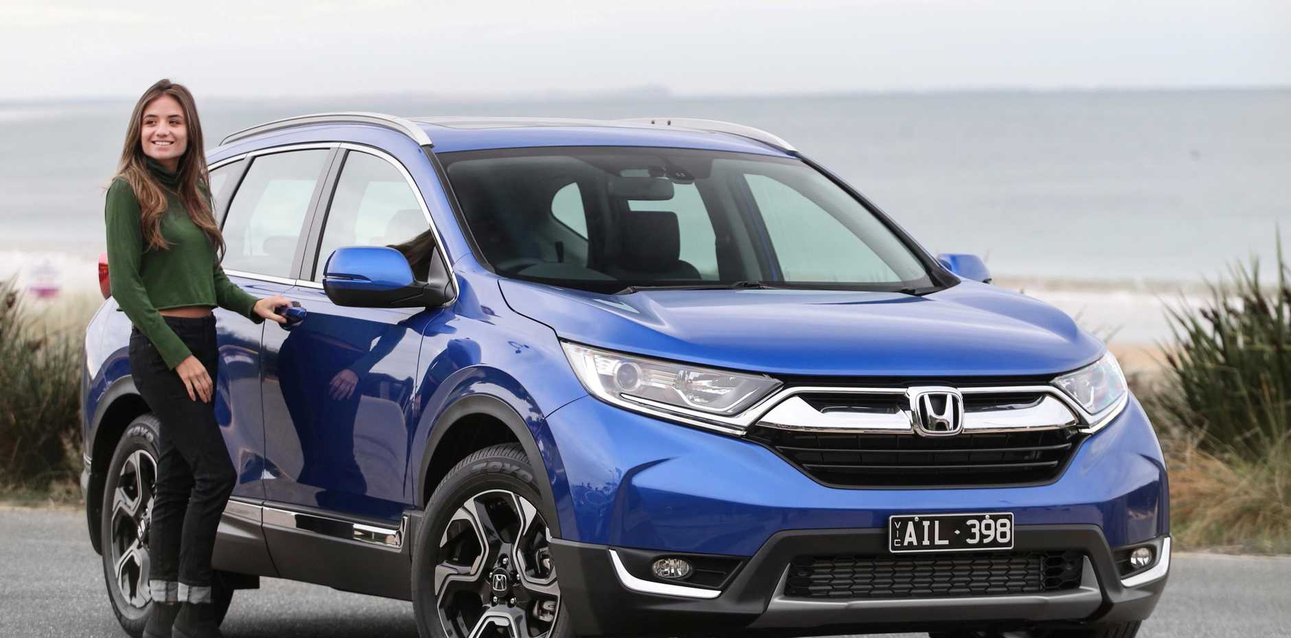 The Honda CR-V VTi-L.