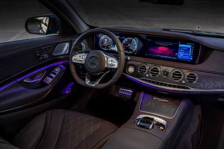 Inside the 2017 Mercedes-Benz S-Class.