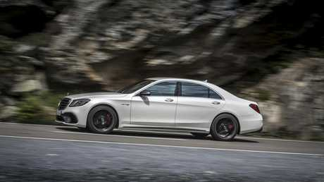 The new Mercedes-Benz S-Class due in Australia late this year.