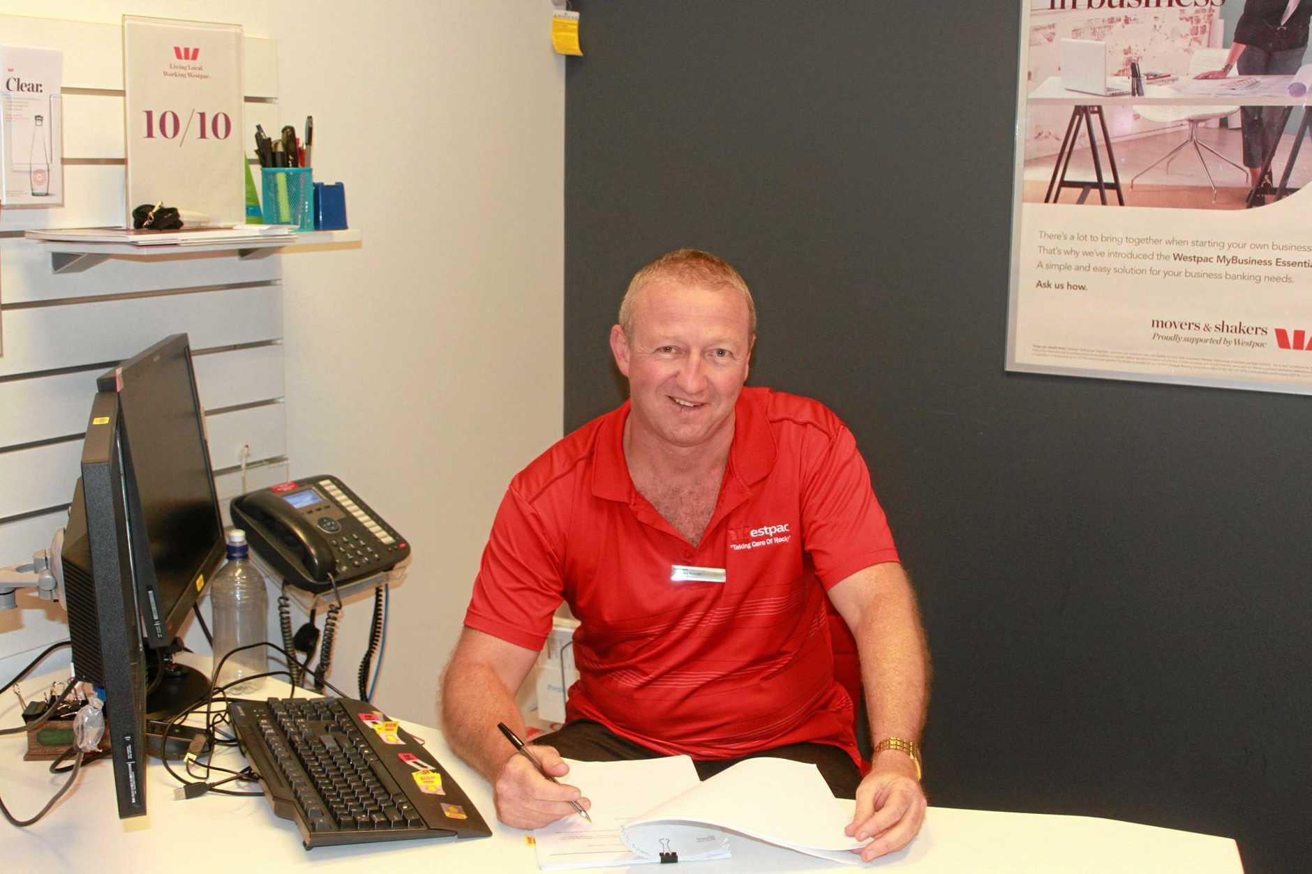 Rockhampton's Chamber of Commerce president Peter Fraser. Photo Madeline McDonald / The Morning Bulletin