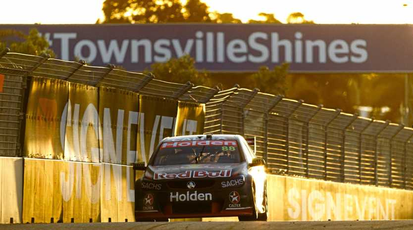 ON PACE: Red Bull Holden Racing Team's Jamie Whincup tests his limits at the Watpac Townsville 400.