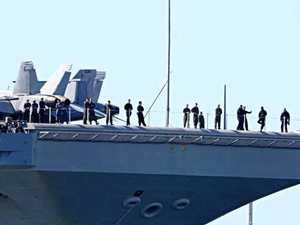 Where you can see USS Ronald Reagan today