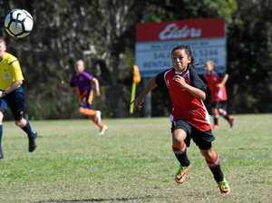Girls unbeaten in first four championship games