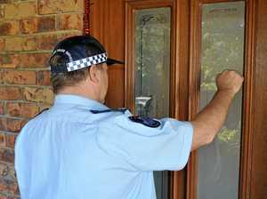 Mum calls cops for help but too embarrassed to open front door