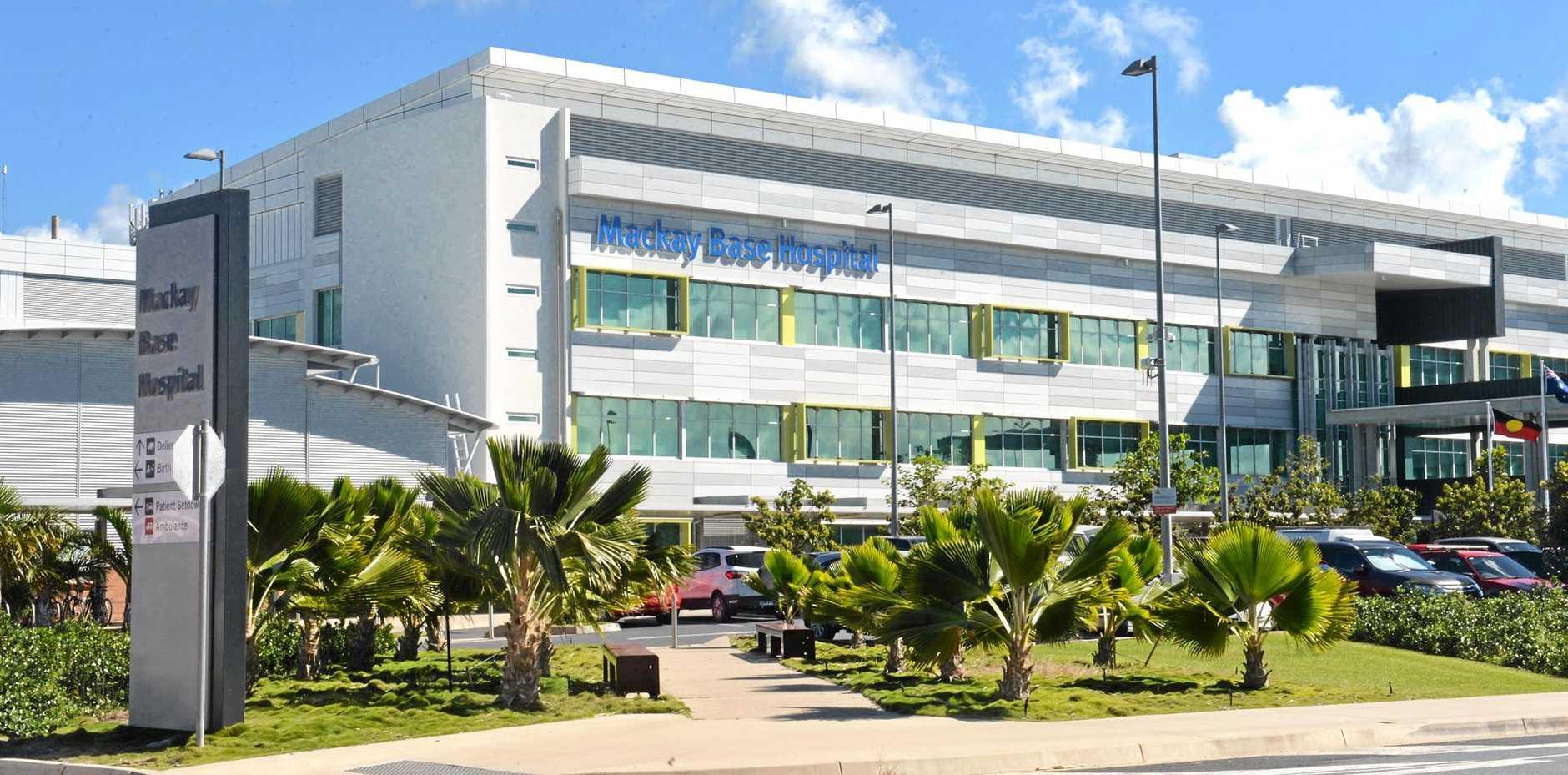SHORTER QUEUES: Mackay Base Hospital has cut its waitng times for operations.